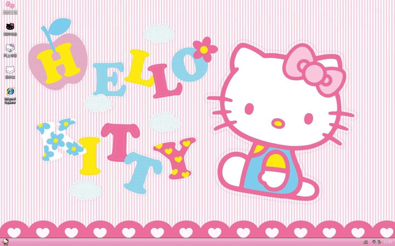 hello kitty猫咪可爱 hello kitty是一只诞生在日本单纯可爱的小白猫